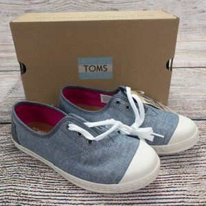 Toms Boys Girls Unisex Casual Shoes Size 3 New
